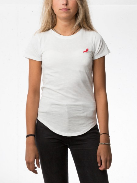 Damen T-Shirt Raupe